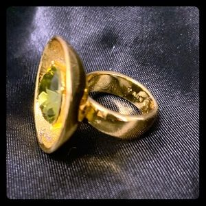 Unique ring design from Trina Turk.
